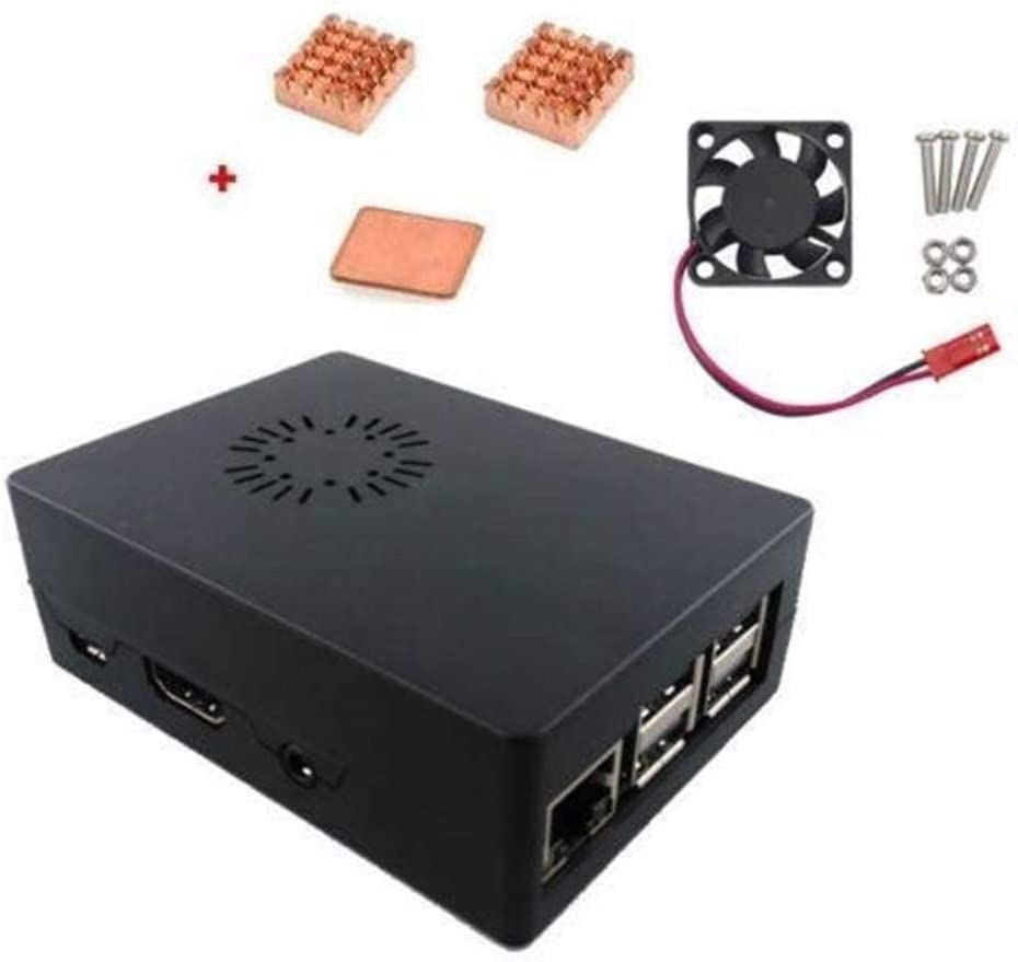 Yangxz Arduino Compatible, Caja de Caja de ABS con Ventilador de ...