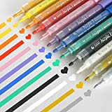 Acrylic Paint Markers Set - Permanent Paint Pens for Plastic, Glass, Ceramic, Wood, Cloth, Rubber, Rock and...