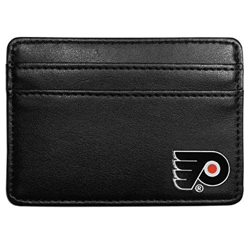 NHL Philadelphia Flyers Leather Weekend Wallet, Black (Nhl Philadelphia Flyers Leather)
