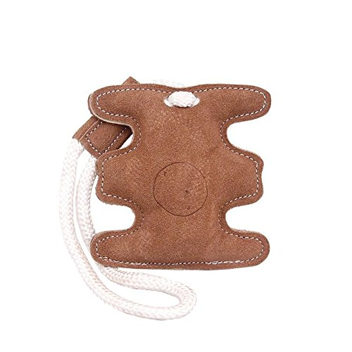 Dog Squeaker Toy Leather Chew Toys for Small Dogs, NPT-55050 Medium Long Lasting, Single Piece Pet Squeak Toys