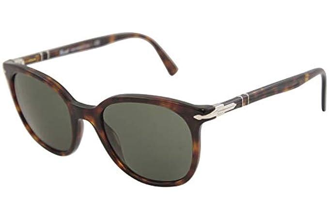 Persol 0PO3216S Gafas de sol, Rectangulares, 51, Black ...