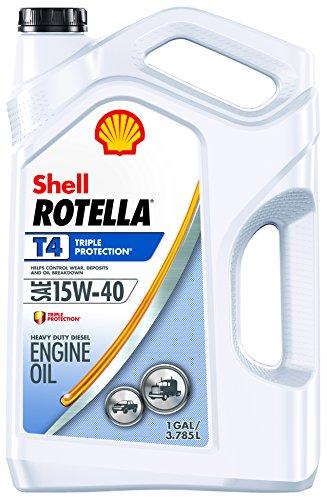 Price comparison product image Rotella 550045126 T4 Triple Protection Motor Oil (15W-40 CK-4),  1 gallon