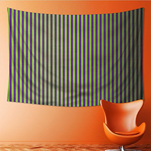 - Nalahome Tapestry Mystic House Decor,Pop Arts Style B Stripes Rooms Wallpaper Royal Blue and Lime Green Bedroom Living Room Dorm Wall Hanging Tapestry(59W x 51.1L INCH)