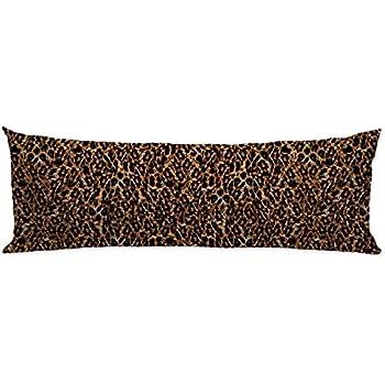 Amazon Com Guglili Leopard Print Body Pillow Covers Cases