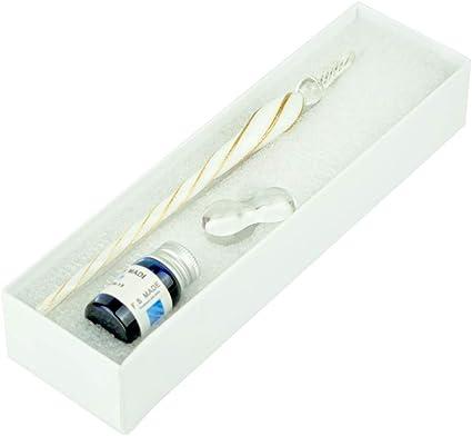 Pluma De Cristal,Glass Dip Pen Set, Pluma Dip de cristal para ...