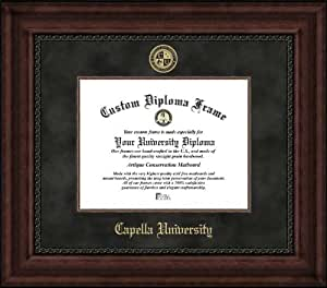 Amazon Com Capella University Embossed Seal Suede