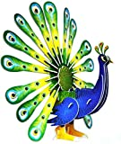 Neska Moda Peacock - National Bird 3D Puzzle Toy for Kids Creative & Attention Building -Easy to Assemble-Min Age-3 Years