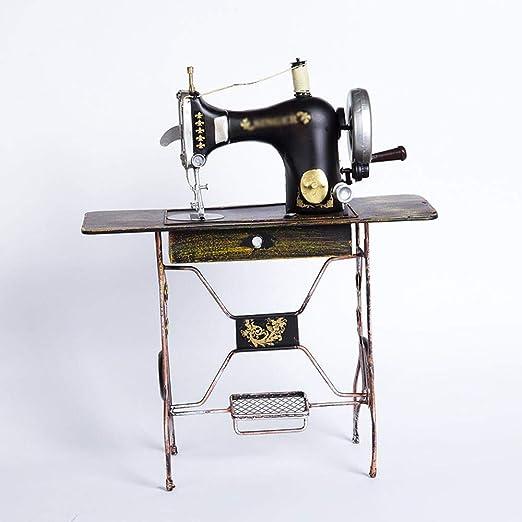 Axiba Vintage Metal Vintage máquina de Coser Modelo Manualidades ...