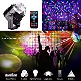 SZYOUMY Sound Activated Party Lights Dj