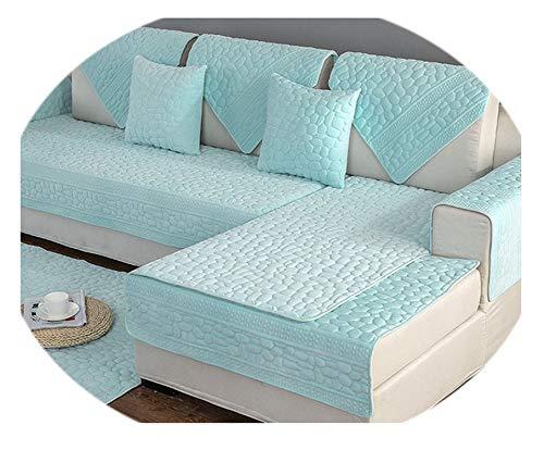 Secret-shop 3D Stone Pattern Sofa Cover Towel Slipcover Plush Fabric Thick Sofa Modern Non-Slip Sofa Couch Cover Corner Towel Mats 1PCS,1PCS Sofa towel2,90x180cm 1pc ()