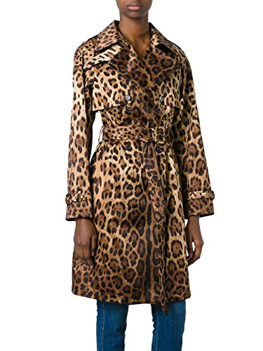 DOLCE E GABBANA WOMEN'S F0P99TFSMB3X0818 MULTICOLOR TRENCH (Dolce & Gabbana Trench Coat)