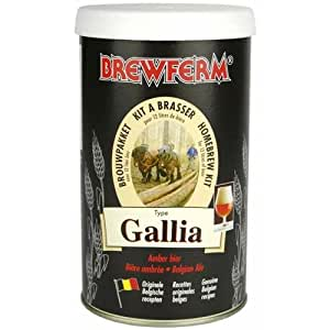 Brewferm - Kit De Ingredientes Gallia - Cerveza Mbar Brewferm