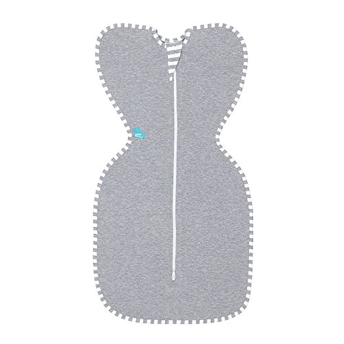 Love To Dream Swaddle UP Original 1.0 TOG, Gray, Small, 8-13 (Halo Kids Bedding)