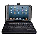 """ASUS Zenpad 8 Z380M Keyboard case, IVSO ASUS Zenpad 8.0 Z380M Case With Keyboard Ultra-Thin High Quality DETACHABLE Bluetooth Keyboard Stand Case / Cover for ASUS Zenpad Z380M-A2-GR 8"""" Tablet(Black)"""