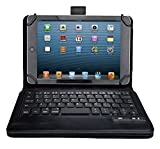 Asus Transformer 3 Pro T303 keyboard, KuGi Ultra-thin universal Portfolio Case - Detachable Bluetooth Keyboard Stand Case / Cover for Asus Transformer 3 Pro T303 tablet (Black)