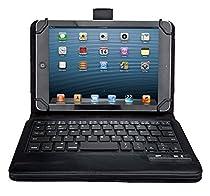 "ASUS Zenpad 8 Z380M Keyboard case, IVSO ASUS Zenpad 8.0 Z380M Case With Keyboard Ultra-Thin DETACHABLE Bluetooth Keyboard Stand Case / Cover for ASUS Zenpad Z380M-A2-GR 8"" Tablet(Black)"