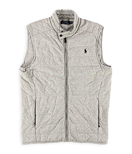 Polo Ralph Lauren Men's Quilted Jersey Vest (Medium) - Jersey Quilted Vest