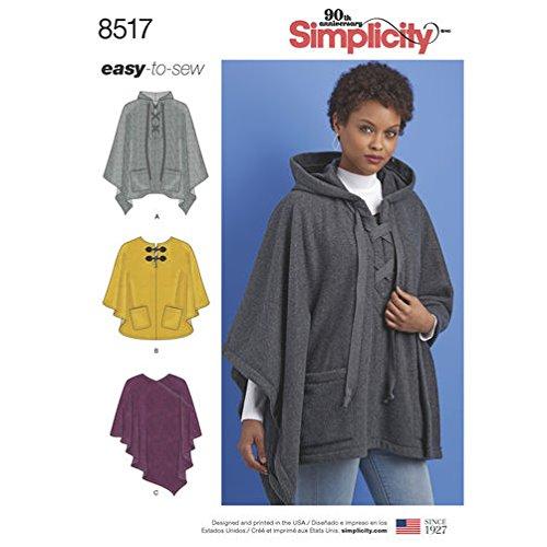 Simplicity Creative Patterns US8517A Tops, Vest, Jackets, Coats ()