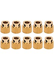 Extrusion Gear, Practical Stable Reliable Brass Brass Drive Gear, for 3D Printer Industrial Application