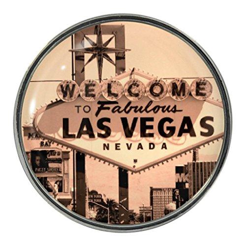 Las Vegas Sign Design Metal Pin (Vegas Badge)