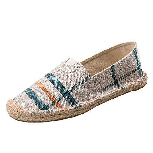 Slip Uomo Come On Casuale Moda Unisex Loafers Immagine9 Flats Scarpe Tinta Espadrillas Basse Unita Dooxii Durevole Donna 7wCAxxqB