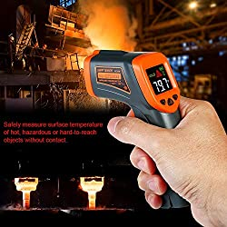 Handheld Digital Non-contact IR Infrared Thermometer Temperature Tester Pyrometer LCD with Centigrade Fahrenheit