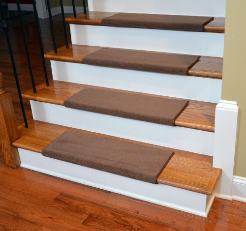 Top 10 best stair treads bullnose top reviews no place for Jardin stair treads