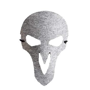 Toyvian Halloween Bruja máscara Fieltro máscara Vestir Accesorios ...