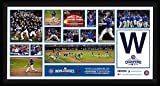 #7: Chicago Cubs 2016 World Series Champions Photo Collection Framed 10 Inch by 20 Inch Photo