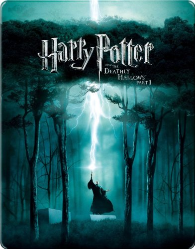 Harry Potter and the Deathly Hallows Pt 1 Blu-ray SteelBook (Blu-ray) (Spanish Import) (Harry Potter And The Deathly Hallows Blu Ray)