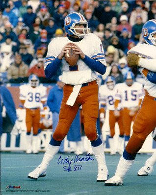 Autographed Signed Craig Morton Denver Broncos 8x10 Photo - Certified ()
