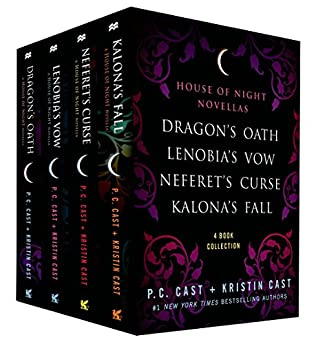 book cover of The House of Night Novellas