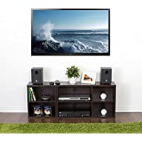 Furinno Indo Espresso TV Media Console l Single TV Media Console