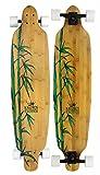 Krown Krex 2 Bamboo Freestyle Complete Longboard, 9.25×41-Inch