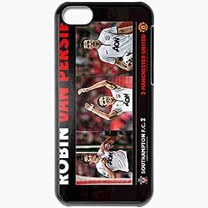 XiFu*MeiPersonalized iPhone 5C Cell phone Case/Cover Skin Football robin van persie di manchester united BlackXiFu*Mei