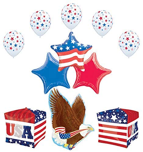 Mayflower Products Patriotic Party Supplies 4th of July