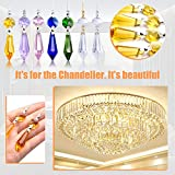 BronaGrand 20pcs 38mm Replacement Clear Chandelier