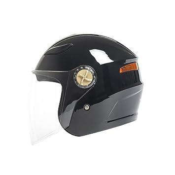 Cascos de motocross Casco semicubierto de locomotora casco de carreras cuatro estaciones casco de niebla para