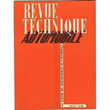 Revue Technique Automobile N°27 - Ford et Matford V8 21 CV au service des professionnnels de l'automobile