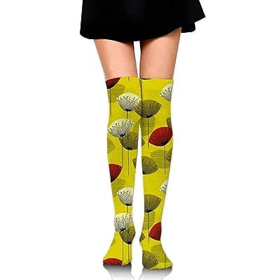 No Soy Como Tu Calcetines Altos Women Thigh High Over Knee Dandelion Long Tube Dress Legging Sport Compression Stocking: Deportes y aire libre