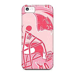 Hot Style Opj1436ypkJ Protective Case Cover For Iphone5c(carolina Panthers) BY icecream design