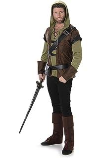 Robin Hood Kostum Fur Erwachsene Amazonde Spielzeug