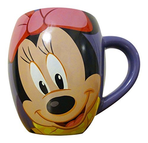 Disney Parks Exclusive Minnie Mouse Sweet! Face Coffee Mug Cup
