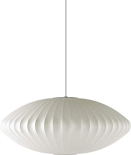 Herman Miller H763 Nelson Saucer Pendant Bubble Lamp, Medium, White