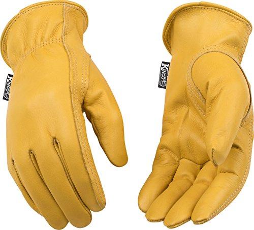 LG Kinco 98W Unlined Grain Cowhide Leather Women's Glove,...