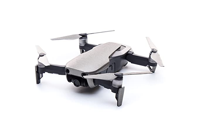 0c891070b47 Modifli Drone Skin for DJI Mavic Air - Brushed Titanium: Amazon.co.uk:  Camera & Photo