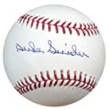 Duke Snider Autographed Official MLB Baseball Los Angeles Dodgers PSA/DNA Stock #865