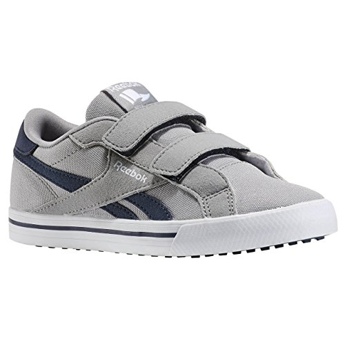 Reebok Royal Comp Alt Cvs Zapatillas, Bebé-niños Gris / Azul / Blanco (Tin Grey/Navy/White)