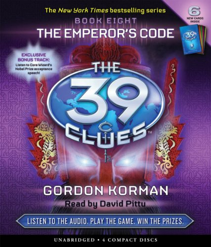 39 clues audio cd - 8