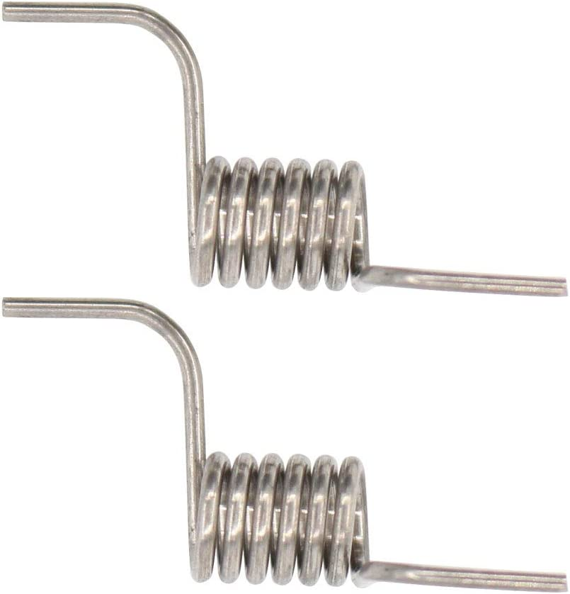 2 PACK Refrigerator Door Spring For LG Electronics MHY62044106 Heavy Duty Steel Compatible With LFX28978ST LFX28968SB LFX28968ST LFX31945ST LMX31985ST LFX25978SB LFC25765ST LFX25978SB//00